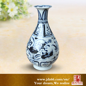 Antique ceramic vase for home decor