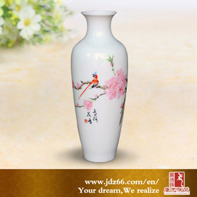 Chinese porcelain flower vase